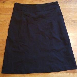 Knee Length Work Skirt